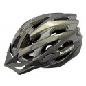 Kask rowerowy Straight, tech., out-mold, kolor: czarny, roz M: 55-58cm